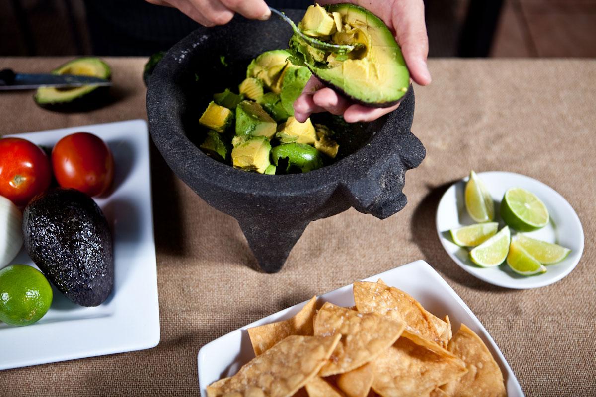 El aguacate, uno de los ingredientes más importantes de la comida mexicana y que nunca falta en la cocina de Alejandra Chávez. (Cortesía de Thyme Matters)