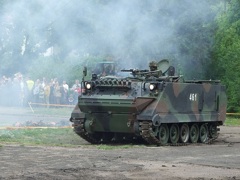 A M113 the armored personnel carrier used when I was a Captain. (©Vytauto)