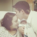 Welcome to the world, Lucca! Happy first Mother's Day Natalia! Papa Beto looks like he will be a wonderful father. (Courtesy of Natalia Strobach Oronoz)