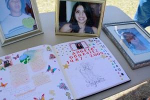 """Our family will never be the same,"" said Gonzalez, mother of Angela Gonzalez. (Danya Hernandez/Borderzine.com)"