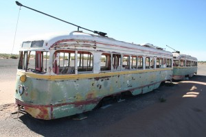 A street car service was present in the El Paso/Juarez area from 1881 until 1974. (Amanda Duran/Borderzine.com)