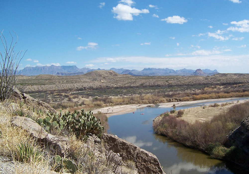 The Rio Grande in Big Bend National Park marks the border between the US and Mexico. Border Patrol agents will have more access to national park land in a bill that passed the House this week. (Photo courtesy of NPS/Eric Leonard)