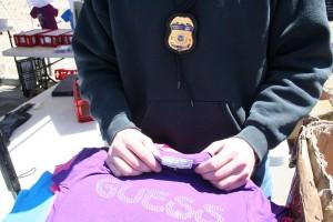 Counterfeit goods raided on Fox Plaza, El Paso. (Courtesy of ICE)