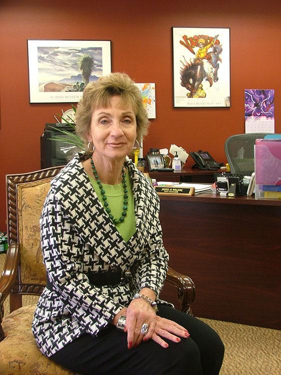 Joyce Wilson (Kristopher Rivera/Borderzine.com)