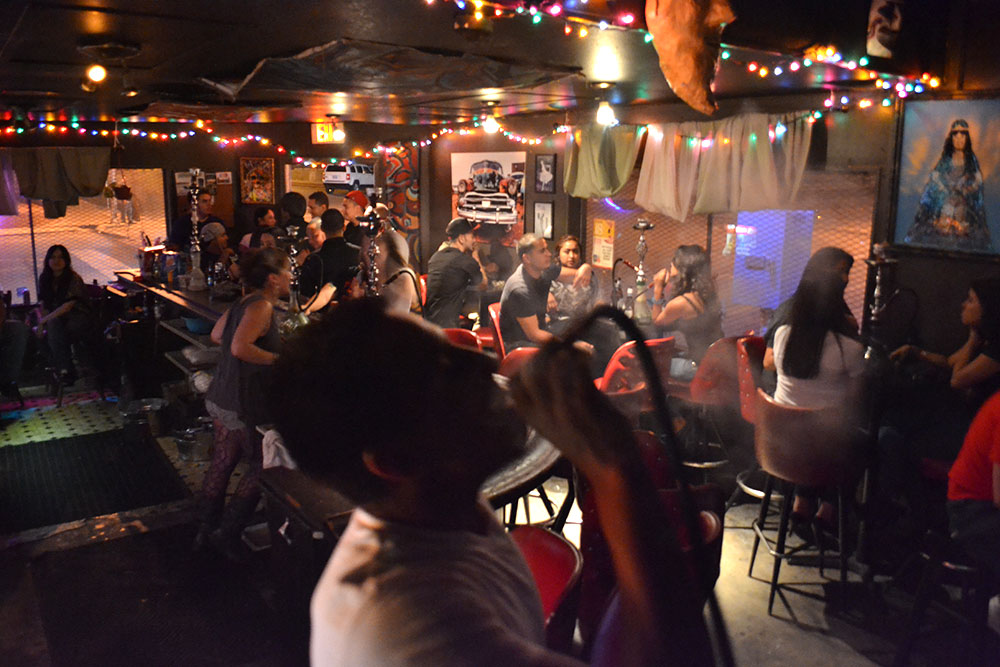 What started as a hooka lounge is now a music venue and art gallery. (Kristopher Rivera/Borderzine.com)