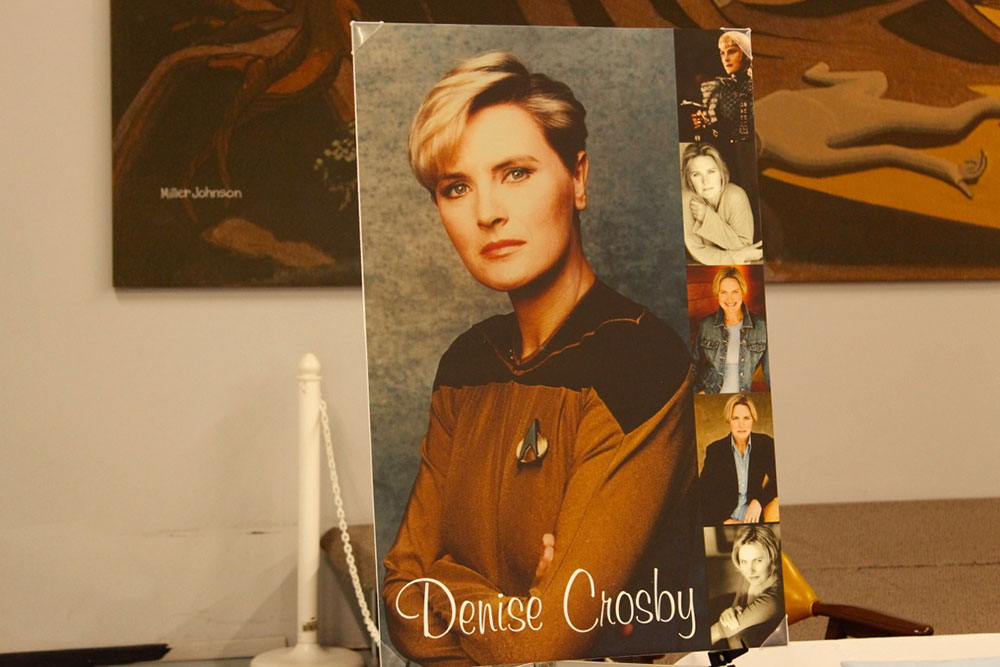 Tasha Yar from Star Trek Next Generation. (Ken Hudnall/Borderzine.com)