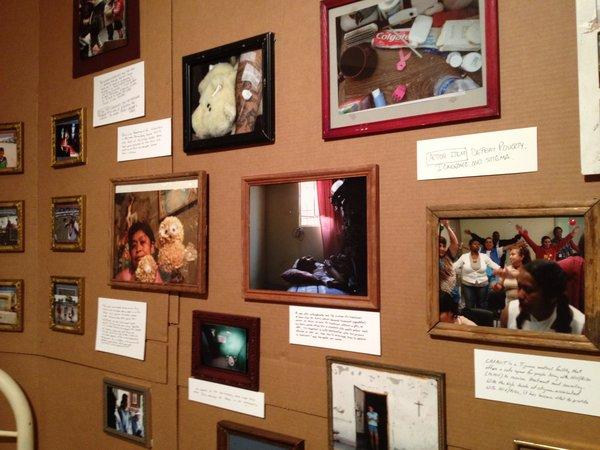 Nuestra Casa exhibition at the Univeersity of Texas at El Paso. (Danya Hernandez/Borderzine.com)