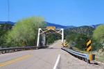Narrow bridge. (Cheryl Howard/Borderzine.com)