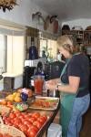 My teacher, Marion, in her kitchen. (Cheryl Howard/Borderzine.com)