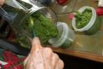 A little side of pesto while we are at it. (Cheryl Howard/Borderzine.com)