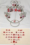 Rings and earrings, arranged with love. (Cheryl Howard/Borderzine.com)