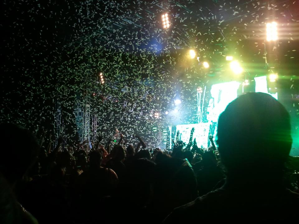 Sun City Music Festival 2011 at Cohen Stadium. (Iris Lopez/Borderzine.com)