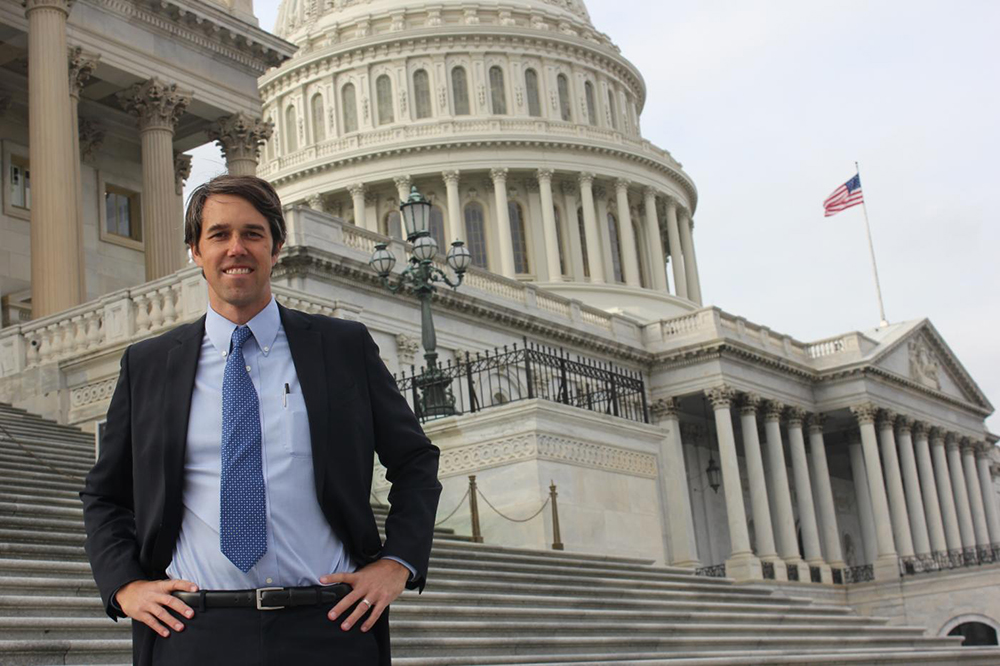 Beto O'Rourke, along with the other freshmen members of Congress, attended orientation sessions. (Kristopher Rivera/SHFWire)