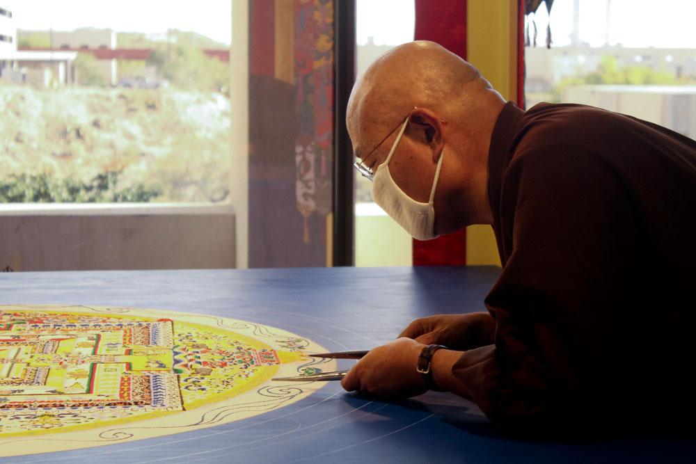 Venerable Losang Samten. (Luisana Duarte/Borderzine.com)