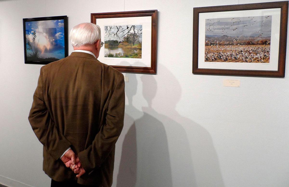 "El Paso Art Association organized the first annual ""International Eye of the Camera"". (Ernie Chacon/Borderzine.com)"