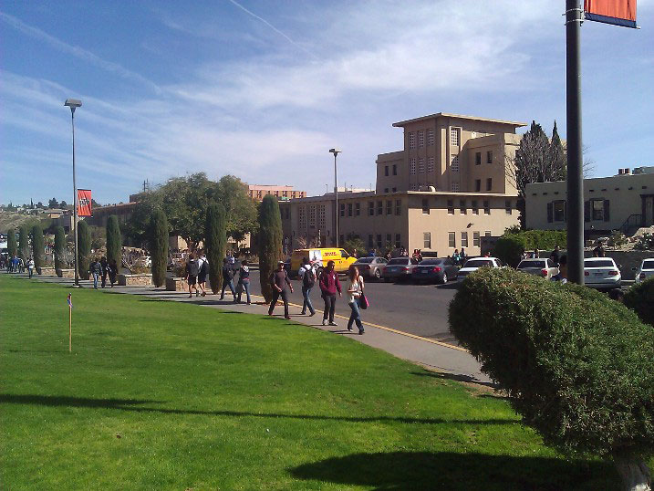 UTEP officers were unable to provide information about the average amount of student debt among UTEP students. (Elliot Torres/Borderzine.com)