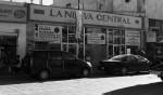 El café La Nueva Central sería demolido como parte de la renovación del centro de Ciudad Juárez. (Juan Raygoza/Borderzine.com)
