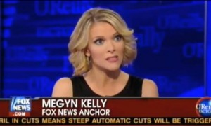 Megyn Kelly, Fox News Anchor.