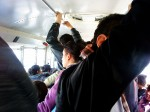 Cada viaje a la universidad es una odisea para los estudiantes juarenzes. (Fernando Aguilar Carranza/Borderzine.com)