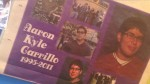 Friends of Aaron Carrillo are petitioning the permission to remember him at their commencement ceremony. (Jessica Neels/Borderzine.com)