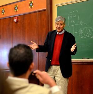 Henry De La Garza, a 1971 University of Texas at El Paso, graduate. (Veronica Enriquez/Borderzine.com)