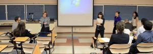 24 UTEP students from five scientific fields participated in the 3rd Annual COURI Symposium. (Alejandra Gonzalez/Borderzine.com)