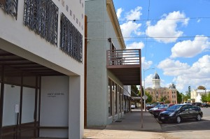 Marfa, TX, a town of about 2,000 people is a hub for contemporary art in the Southwest. (Amber Watts/Borderzine.com)