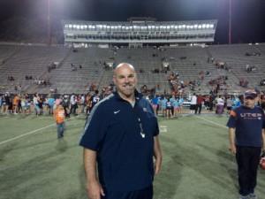 New UTEP football Head Coach Sean Kugler. (Domingo Martinez/Borderzine.com)