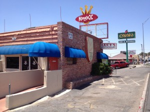 Lucy's and King's X Bar are North Mesa Street institutions in El Paso. (John Schmeltzer/Borderzine.com)