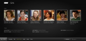 Cast for the HBO Show, Girls.