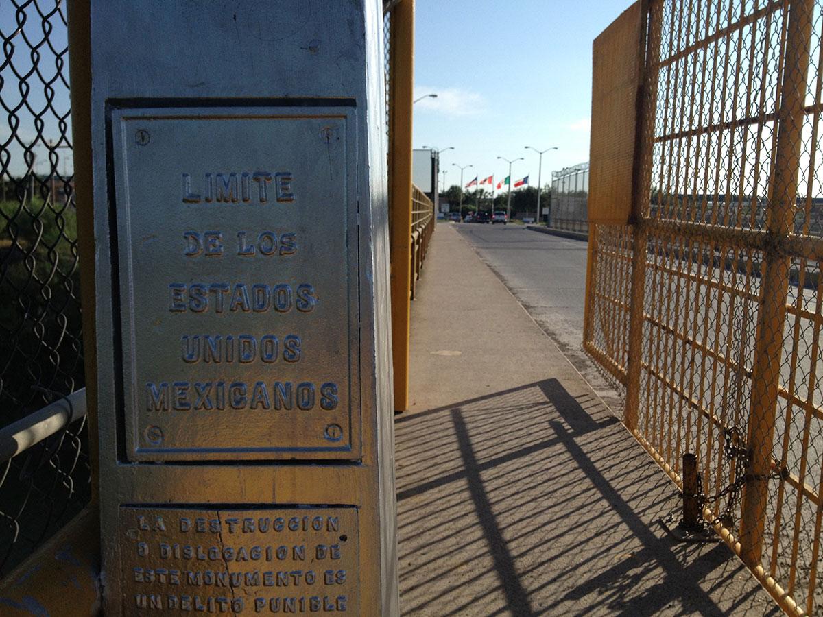 The Rio Grande City-Camargo International Bridge. (Sergio Chapa/Borderzine.com)