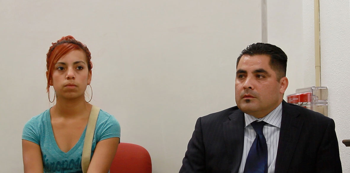 "El Paso Immigration Attorney Eduardo Beckett (right) considers that immigration judges in El Paso ""have become desensitized to the realities of the violence in Mexico"". (Luis Hernández/Borderzine.com)"