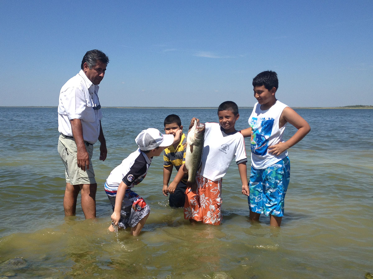 Camargo is home to the Marte R. Gomez Reservoir, nicknamed Sugar Lake. (Sergio Chapa/Borderzine.com)