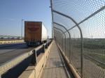 The international bridge between Del Rio and Ciudad Acuña one of the longest along the border. (Sergio Chapa/Borderzine.com)