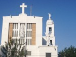 The cathedral in downtown Ciudad Acuña. (Sergio Chapa/Borderzine.com)