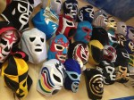Chinto's Super Taco has collection of Mexican wrestling masks. (Sergio Chapa/Borderzine.com)