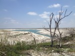 Nowhere is the current drought more devastating than Lake Amistad, an international reservoir just west of Del Rio. (Sergio Chapa/Borderzine.com)