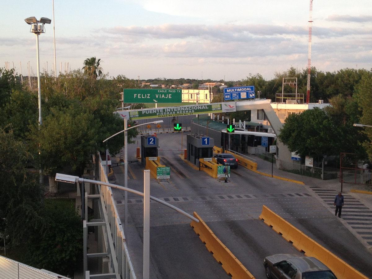 Eagle Pass, Texas to Piedras Negras, Mexico and back: Oil