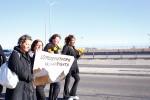 Donale Diaz, Elena Paz, Margarita Arvizu and Margarita Galvan. (Edwin Delgado/Borderzine.com)