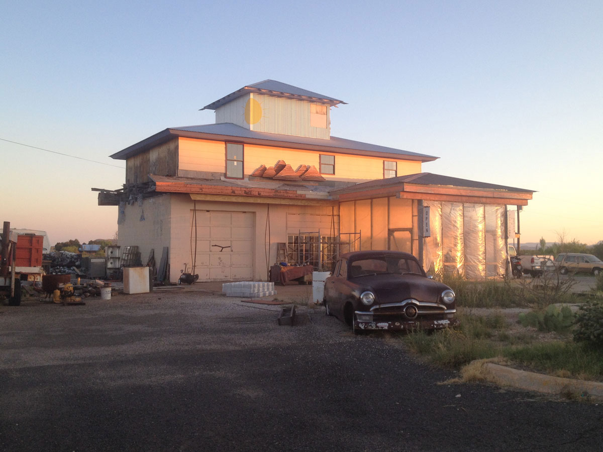 The mysterious marfa lights for Sanderson builders