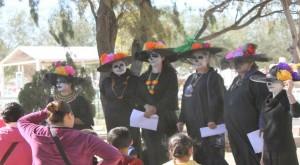 Las Catrinas, Ciudad Juárez. (John De Frank/Borderzine.com)