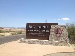 Study Butte entrance to Big Bend National Park. (Sergio Chapa/Borderzine.com)