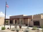 U.S. Customs and Border Protection (CBP) outpost for the Boquillas del Carmen crossing. (Sergio Chapa/Borderzine.com)