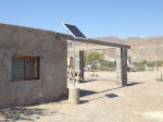 Too expensive to run power lines, the Coahuila government provide solar panels as an electricity source for residents. (Sergio Chapa/Borderzine.com)