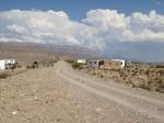 The clouds are majestic in the moutains that surround Boquillas del Carmen. (Sergio Chapa/Borderzine.com)