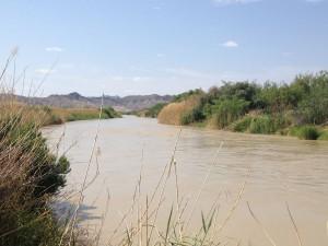 The Rio Grande River near Lajitas, Texas. (Sergio Chapa/Borderzine.com)