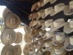 Cowboy hat souvenirs for sale in Ojinaga, Chihuahua. (Sergio Chapa/Borderzine.com)