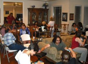 The local Bahá'í Faith community consists of multicultural, multiethnic group of devotees. (Thomas W Chellis/Borderzine.com)