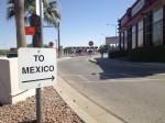 The Ysleta International Bridge. (Sergio Chapa/Borderzine.com)