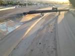 Not a drop of water in the Rio Grande River in downtown El Paso. (Sergio Chapa/Borderzine.com)